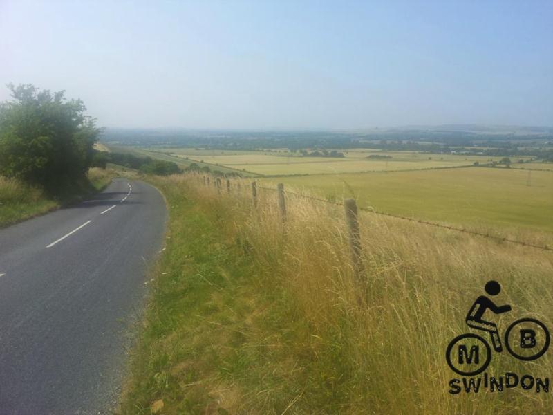 Hot Pewsey hill.