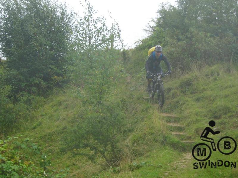 Riding steps near Stroud.