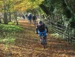 Mountian biking near Painswick.