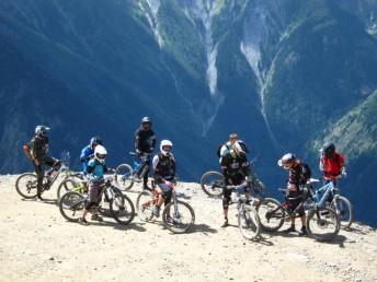 Les Deux Alpes vtt view