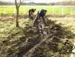 MTB trail drainage work.