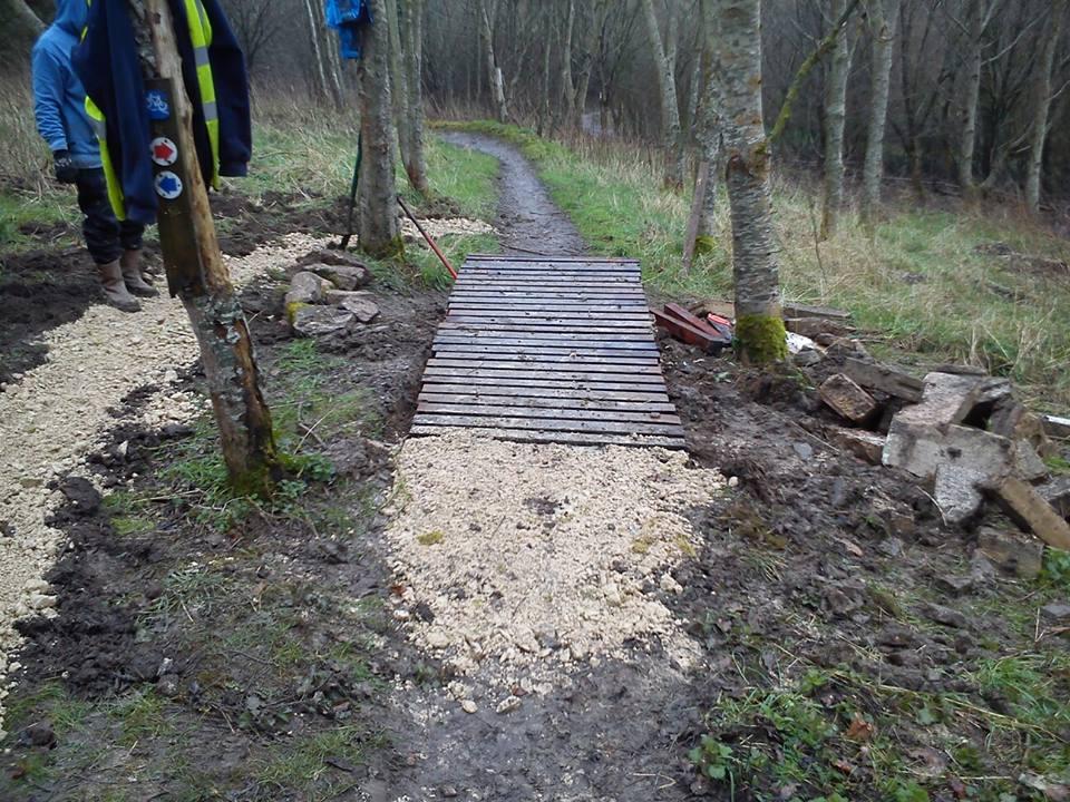Trail Build Day Feb 2016