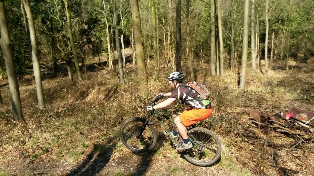 MB Swindon - Collingbourne Woods