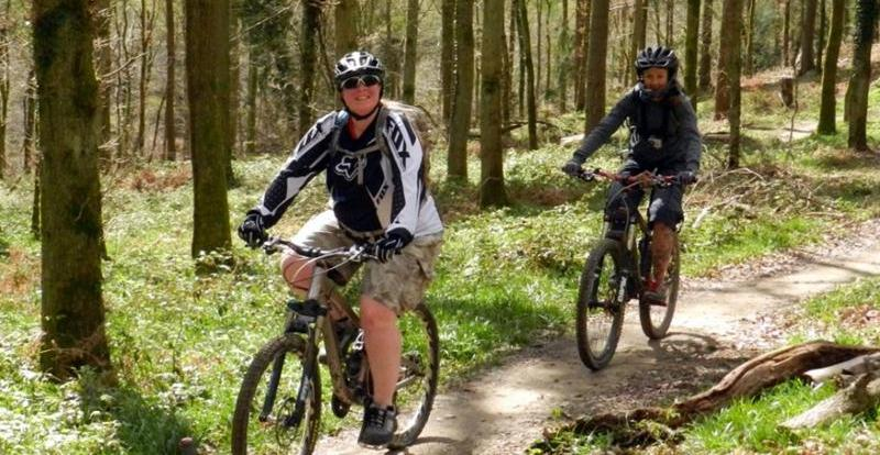 Ladies Forest of Dean Trail Centre meet