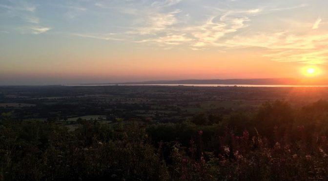 The 'Stinchcombe Hill Flatty' ladies ride