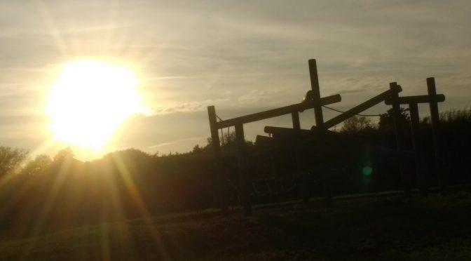Sunrise at Avebury