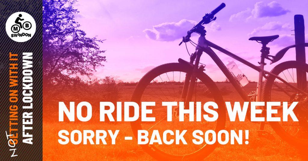 No ride this week